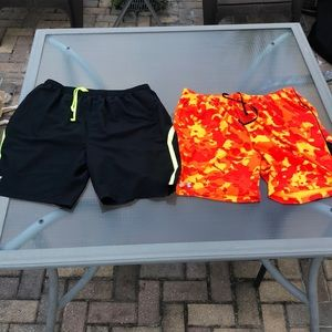 Under Armour lot of 2 Running Shorts size XL
